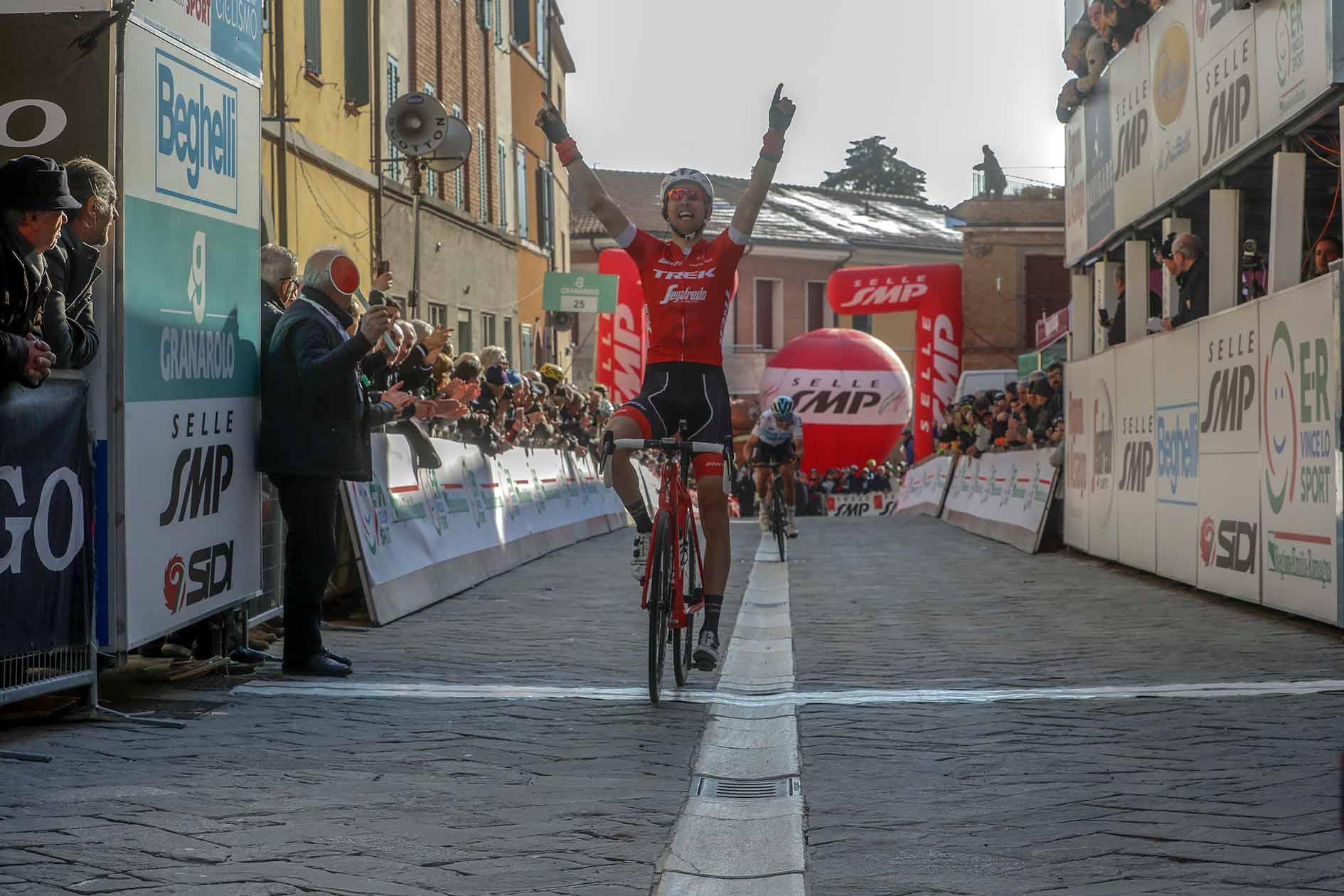Bauke Mollema vince la seconda tappa della Settimana Coppi e Bartali 2018