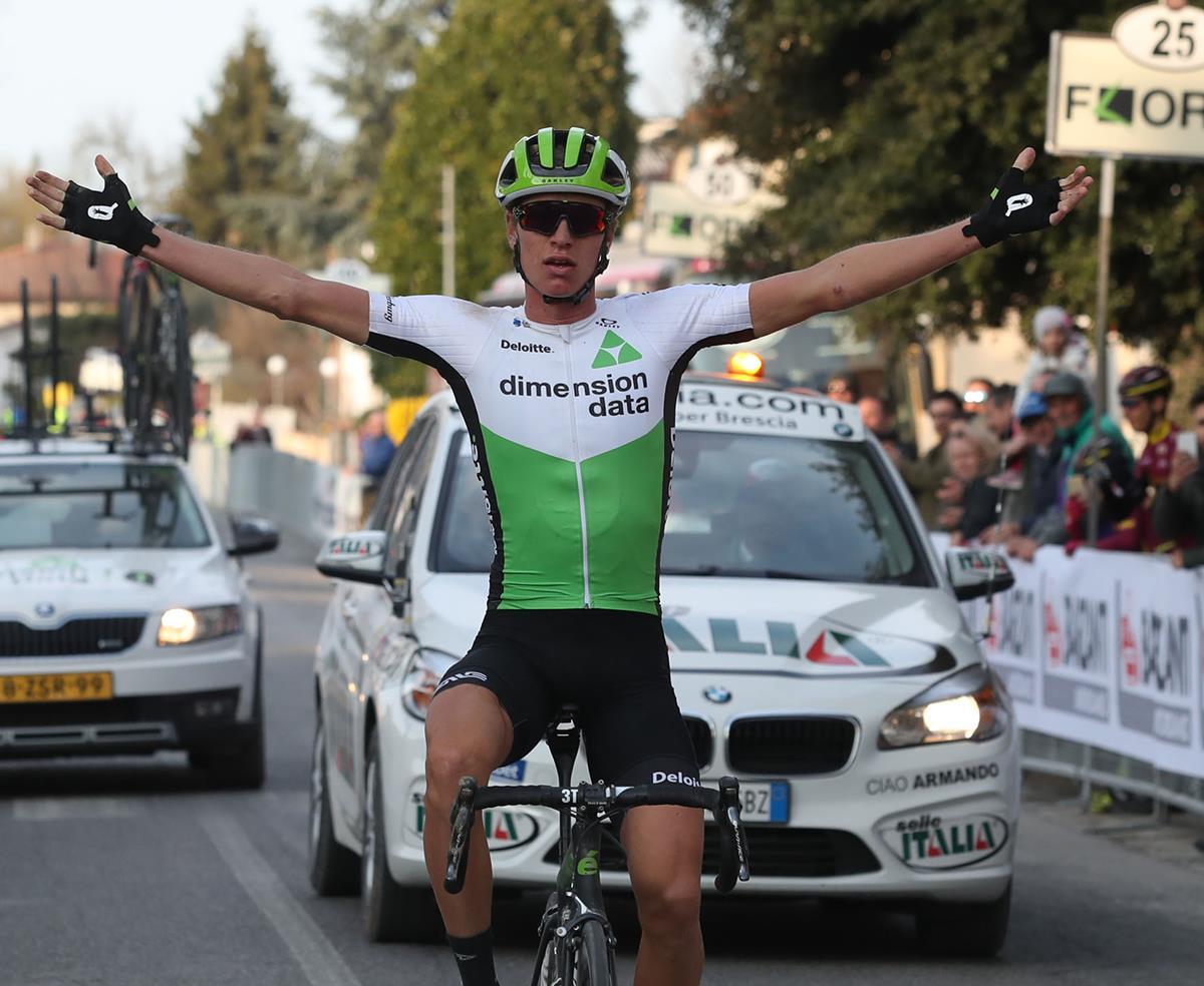 Stefan de Bod vince la Strade Bianche di Romagna 2018