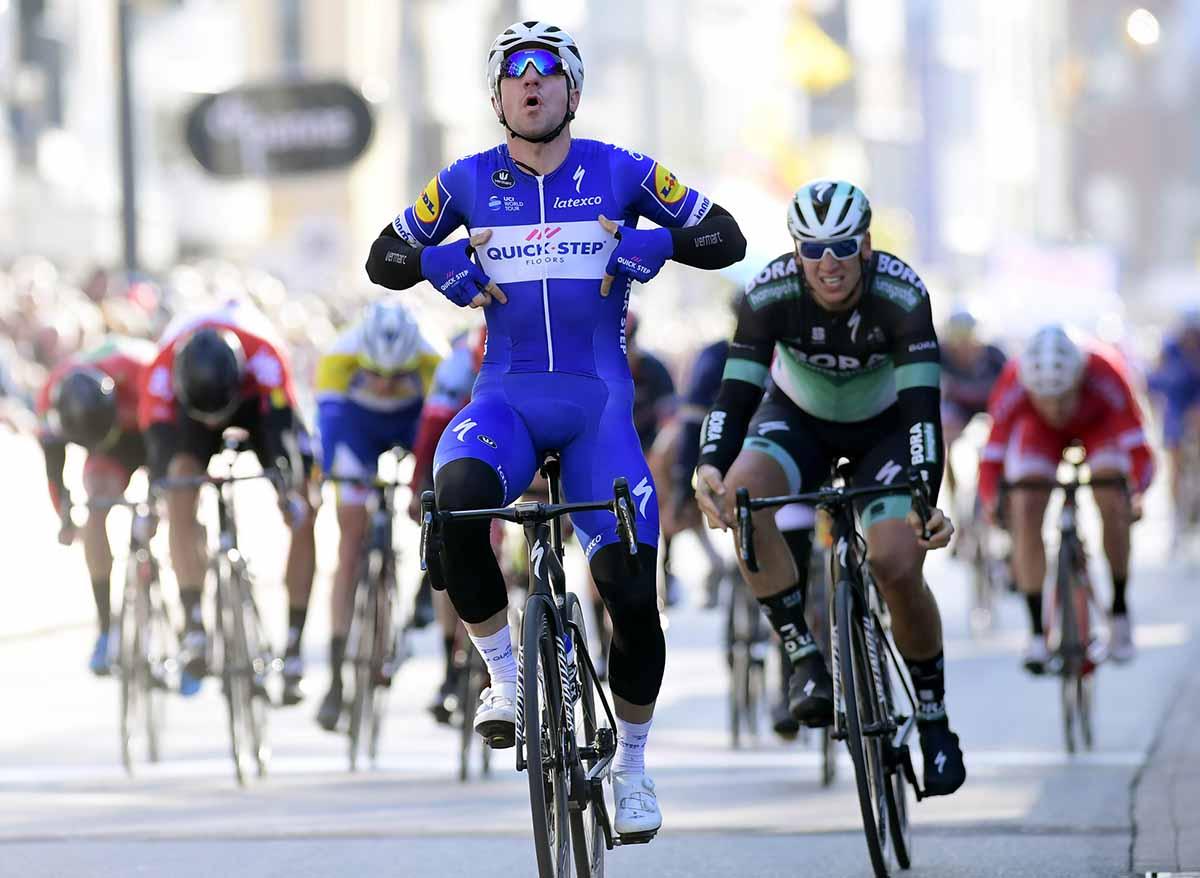 Elia Viviani vince la Driedaagse De Panne-Koksijde 2018