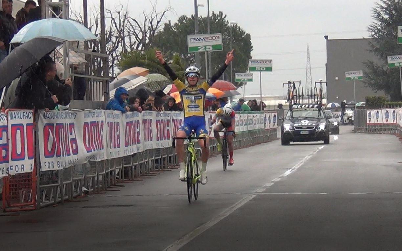 Alessandro Fancellu vince il Gp OMVA 2018 a San Paolo d'Argon