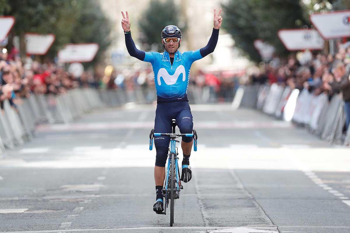Alejandro Valverde vince il Gp Miguel Indurain 2018