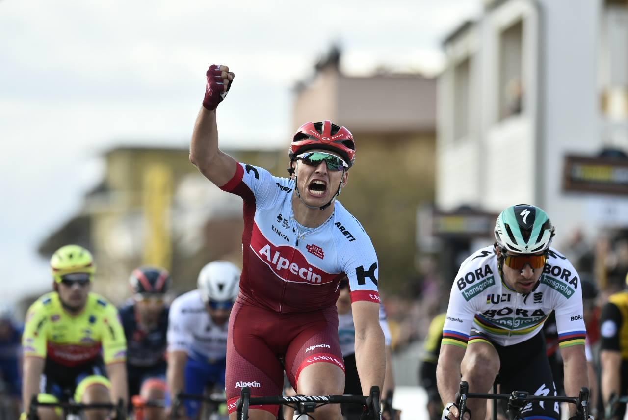 Marcel Kittel vince la seconda tappa della Tirreno-Adriatico 2018