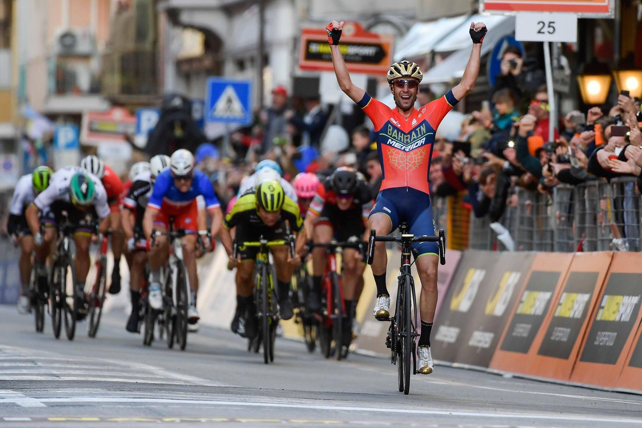 Vincenzo Nibali vince la Milano-Sanremo 2018