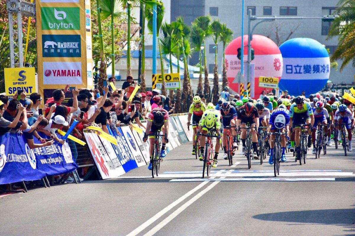 Luca Pacioni vince l'ultima tappa del Tour of Taiwan