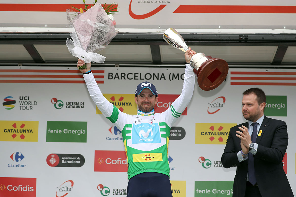 Alejandro Valverde vincitore della Volta Ciclista a Catalunya 2018