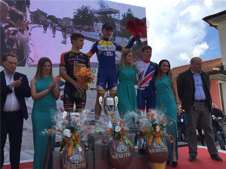 Il podio del Trofeo Piva 2018