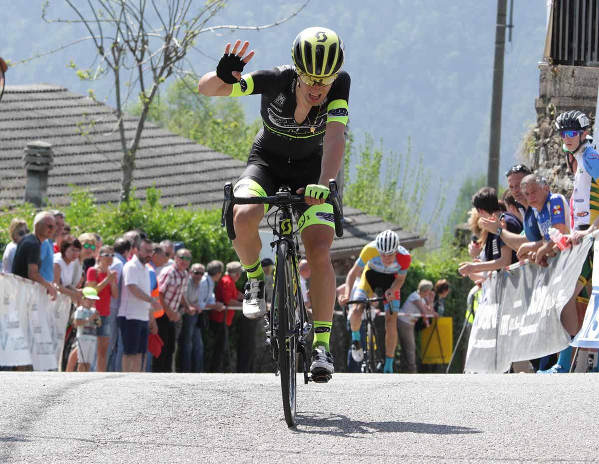 La vittoria di Samuele Rubino a Pettenasco