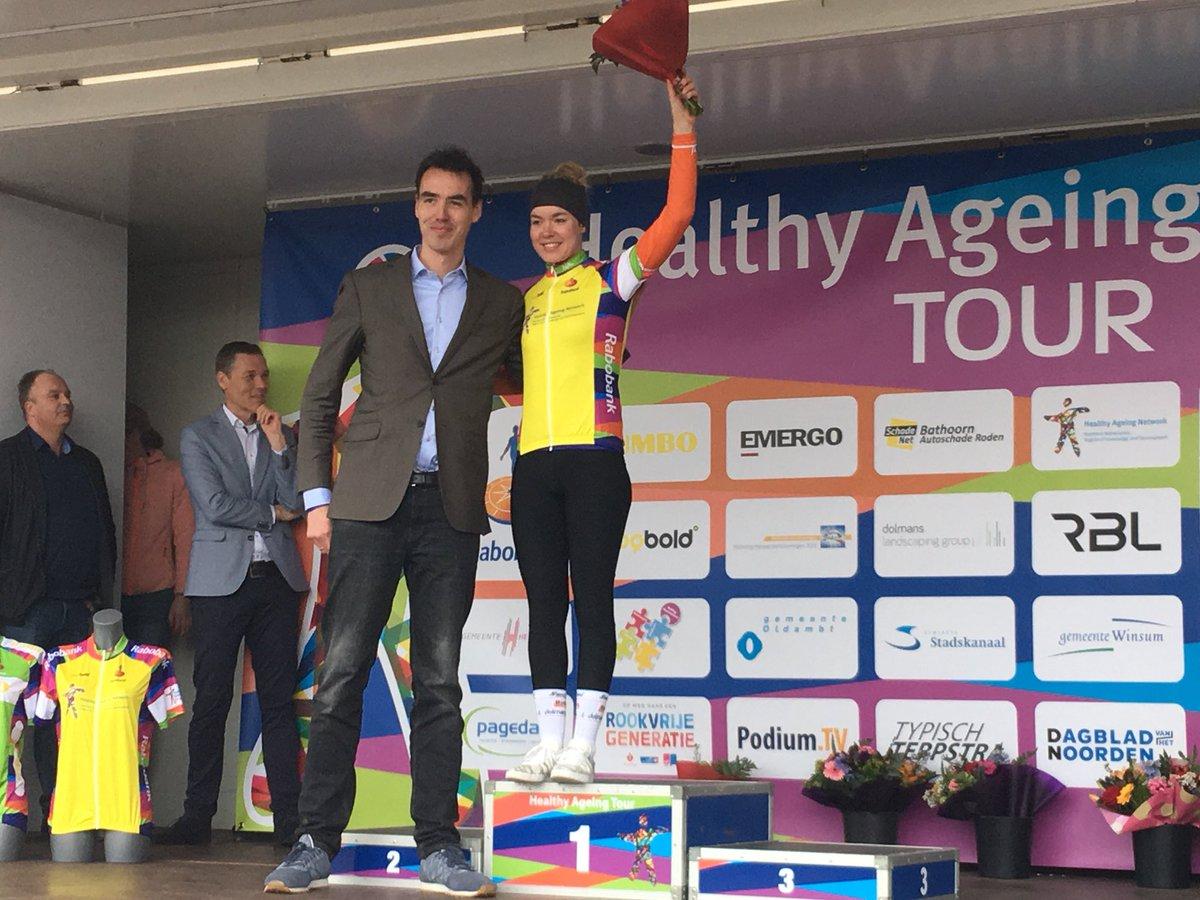 Anna Van der Breggen vince la crono di apertura dell'Healthy Ageing Tour