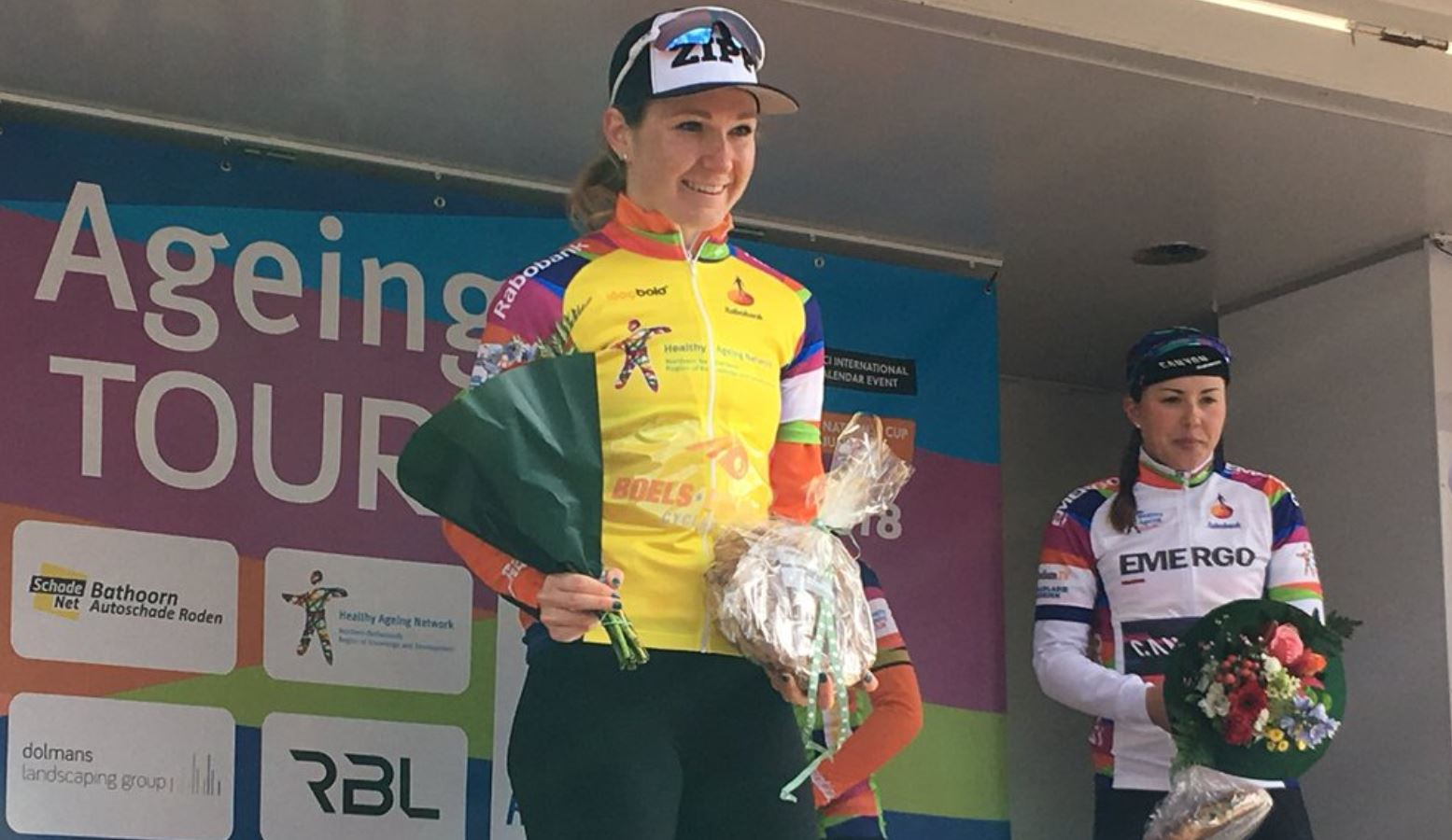 Amy Pieters vince la seconda tappa dell'Healthy Ageing Tour