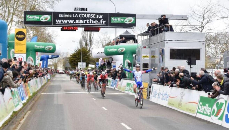 Marc Sarreau ha vinto la seconda tappa del Circuit Cycliste Sarthe