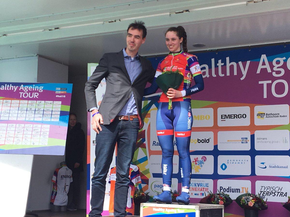 Pfeiffer Georgi vince la seconda tappa dell'Healthy Ageing Tour Junior Women
