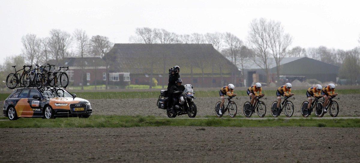 La Boels Dolmans vince la cronosquadre dell'Healthy Ageing Tour