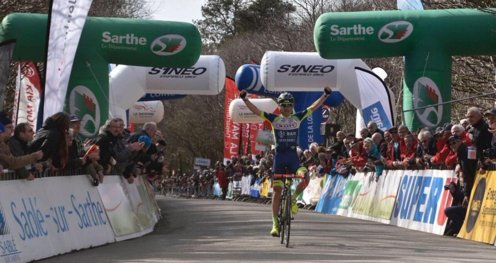 Guillaume Martin vince la terza tappa delCircuit Cycliste Sarthe
