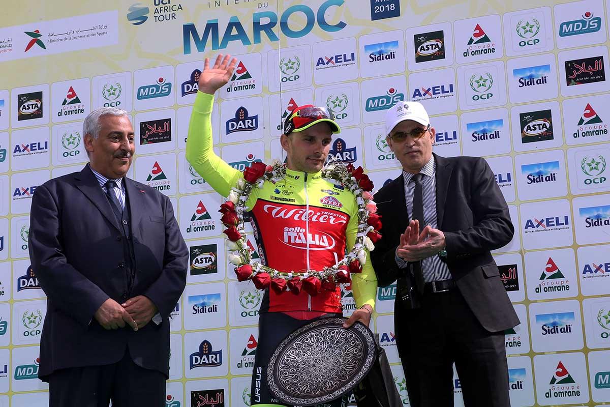 Jakub Mareczko vince la terza tappa del Tourcycliste du Maroc
