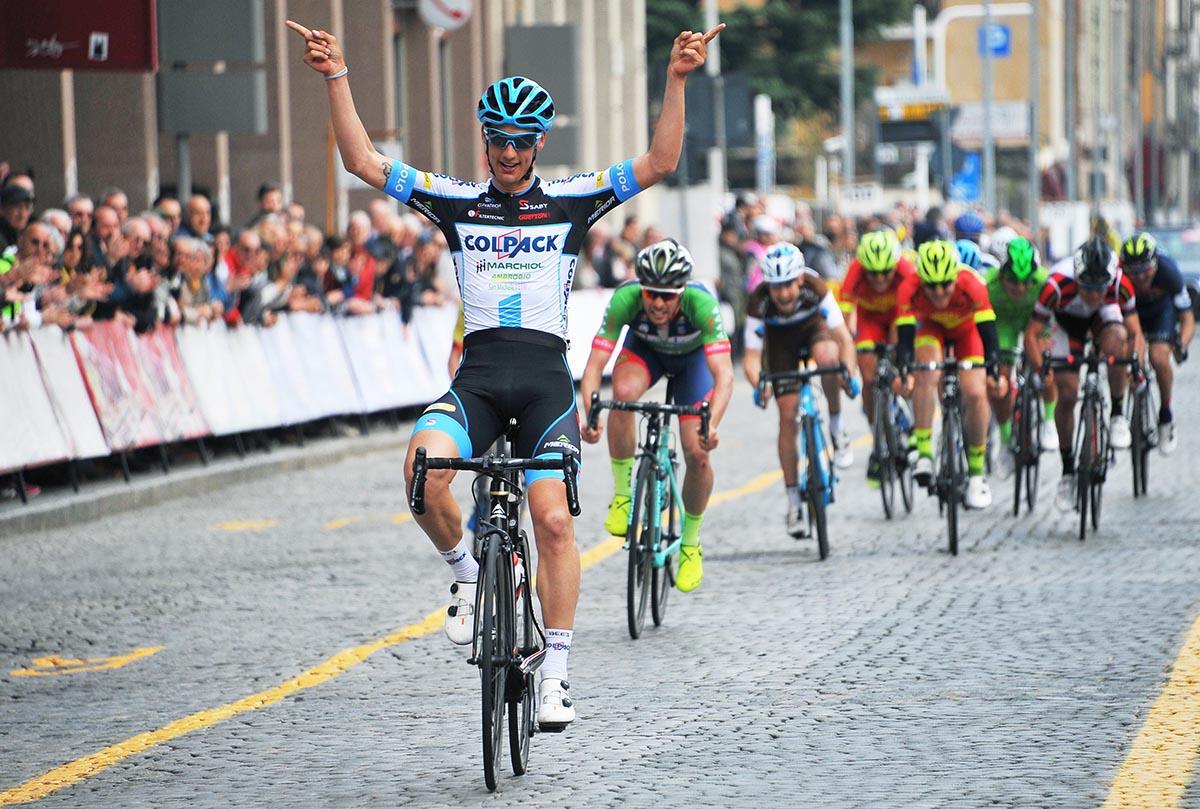 Andrea Toniatti vince a Biella