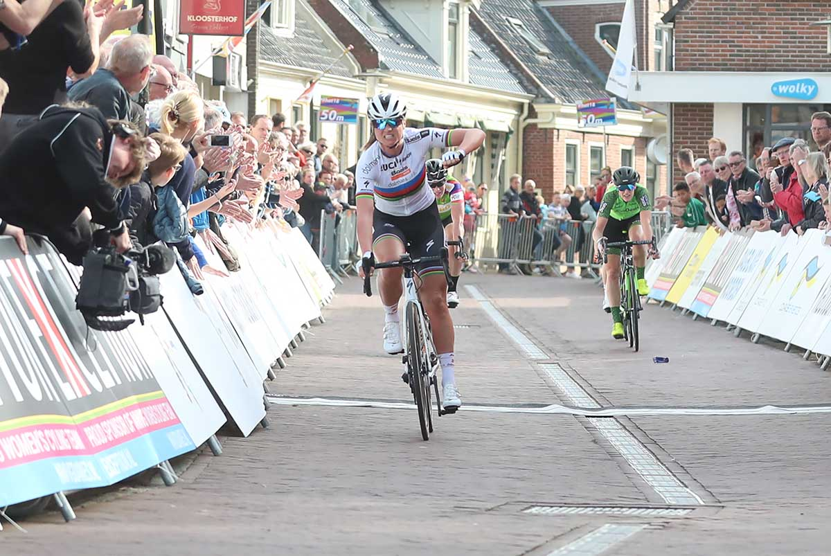 Chantal Blaak vince la quarta tappa dell'Healthy Aeging Tour