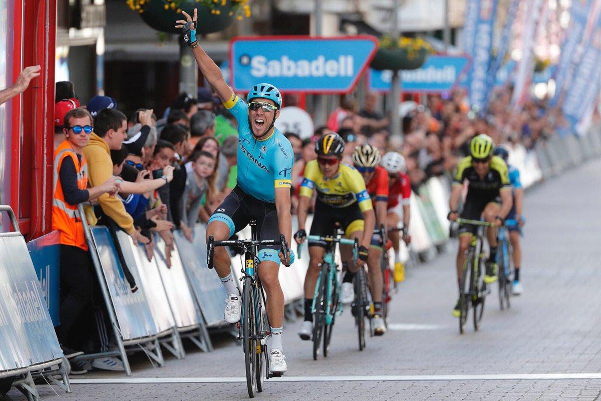 Omar Freile vince la quinta tappa del Giro dei Paesi Baschi 2018