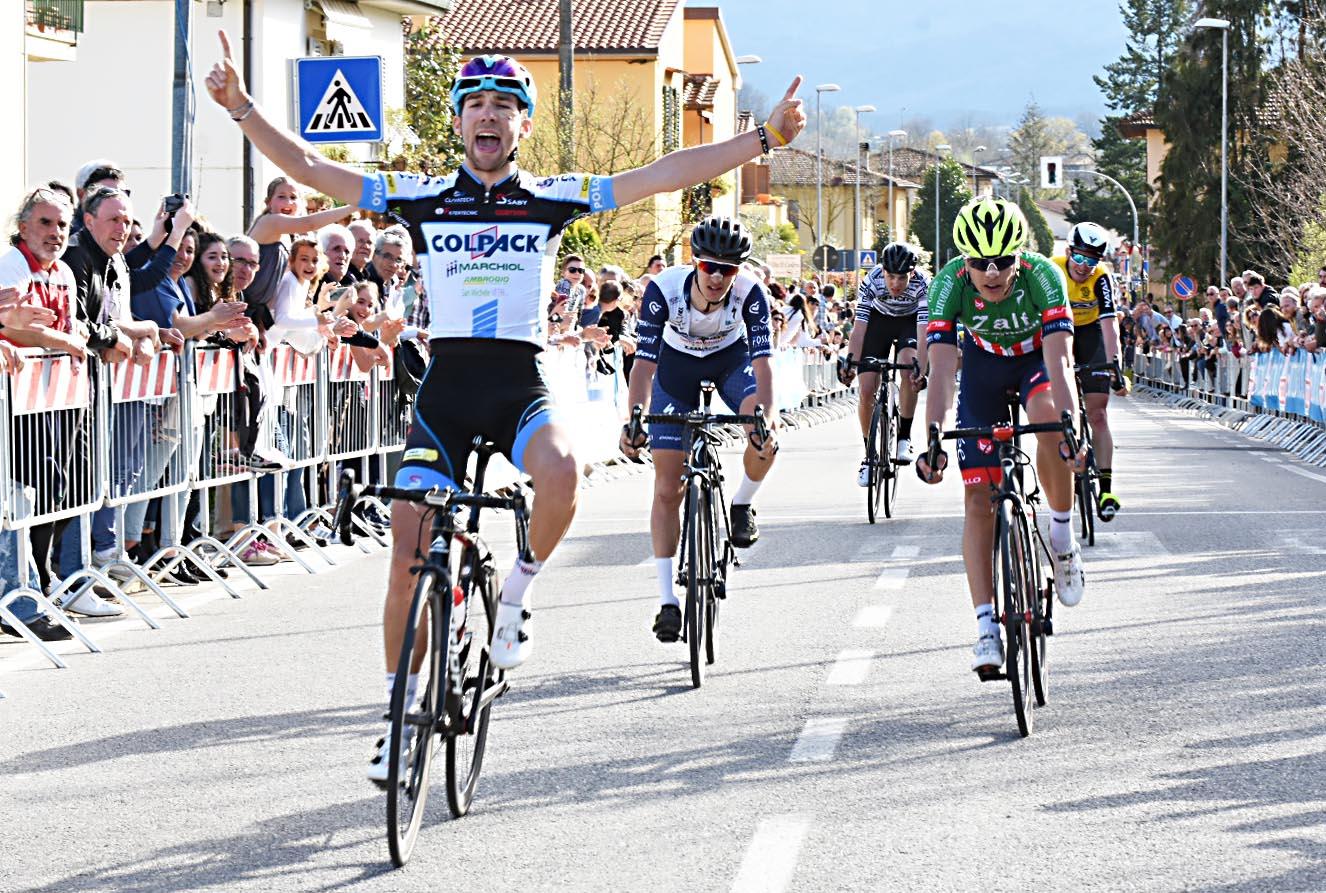 Davide Baldaccini vince a Montanino