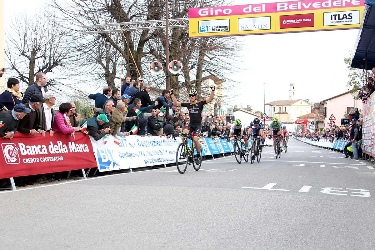L'australiano Robert Stannard vince il Giro del Belvedere 2018