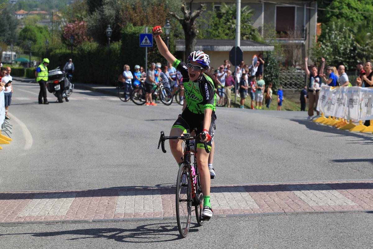 La vittoria di Federica Venturelli a Roletto nella gara Donne Esordienti