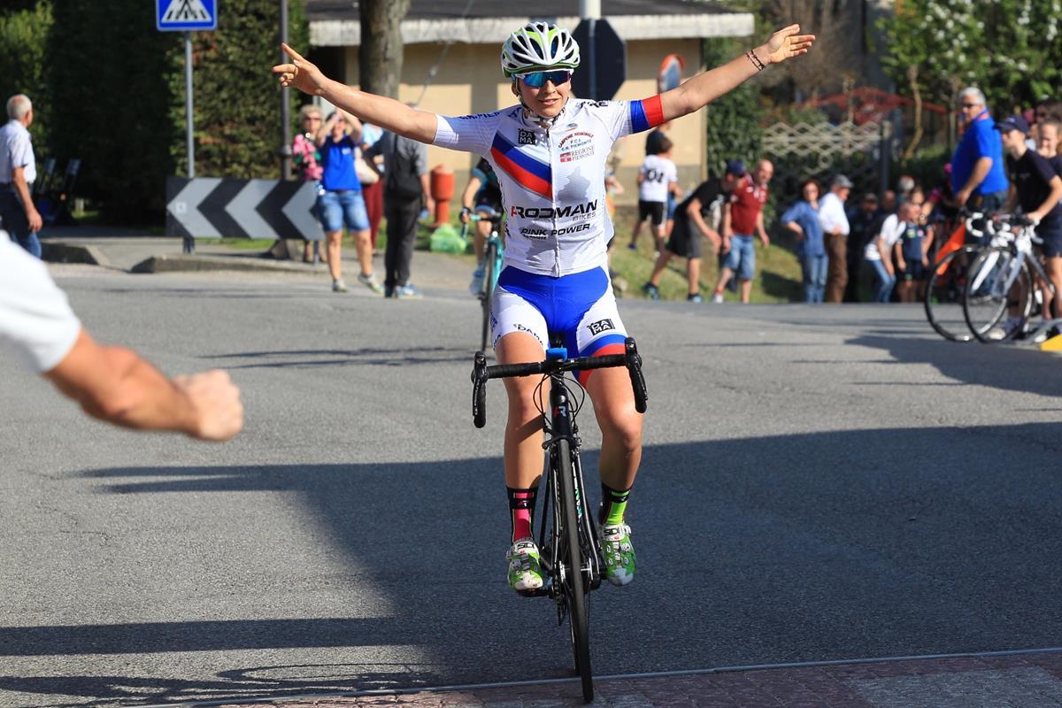 Eleonora Camilla Gasparrini ha vinto la gara Donne Allieve di Roletto