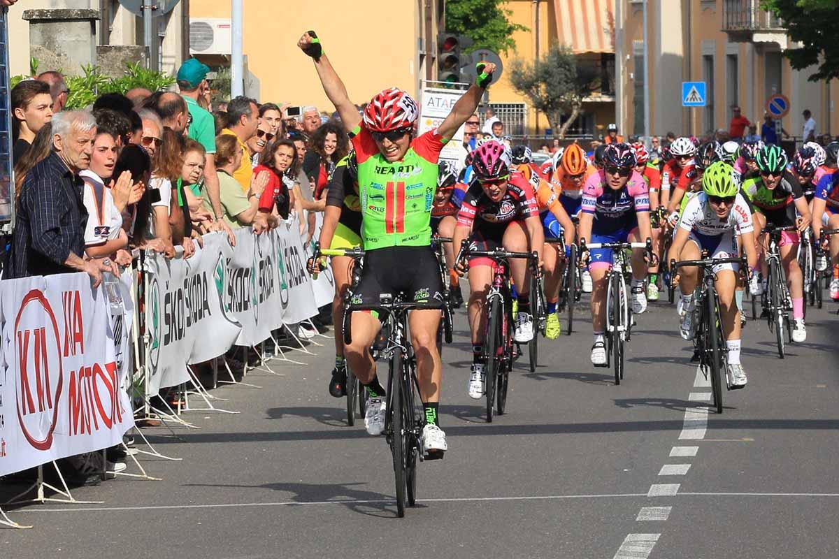 Alessia Patuelli vince la gara Donne Allieve di Podenzano