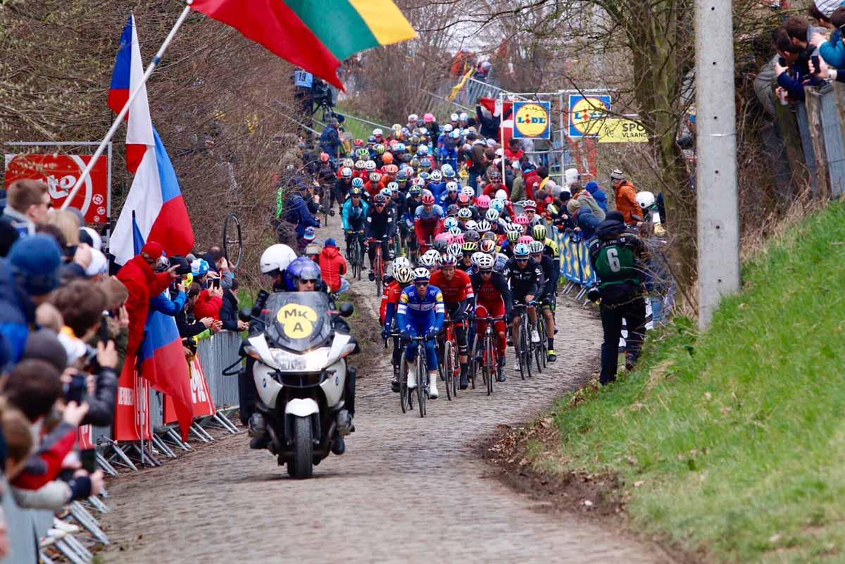 Uno dei passaggi sui muri delle Fiandre