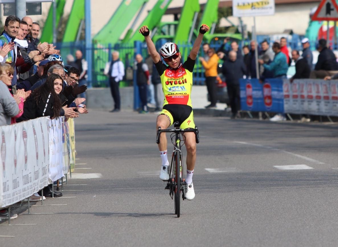 La vittoria dell'allievo Gabriele Colobertia Camignone