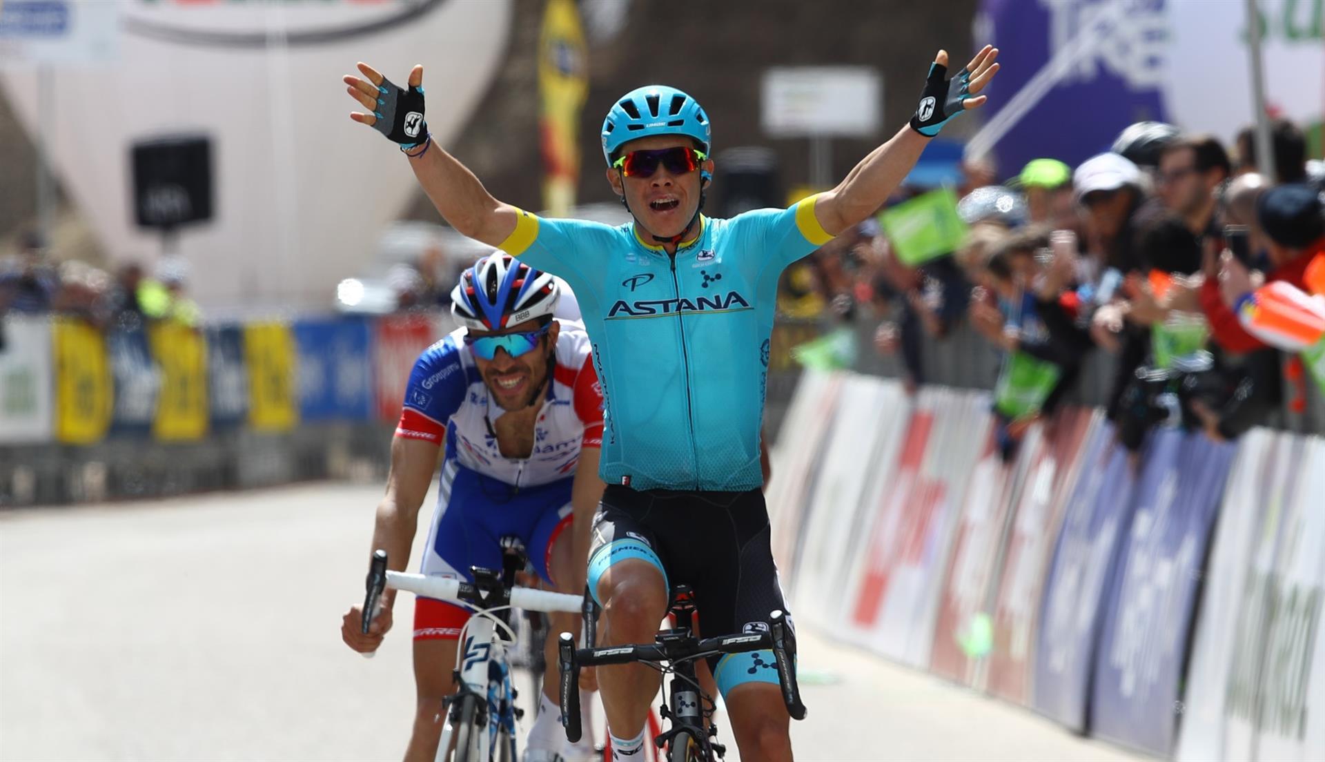 Miguel Angel Lopez vince la seconda tappa del Tour of the Alps