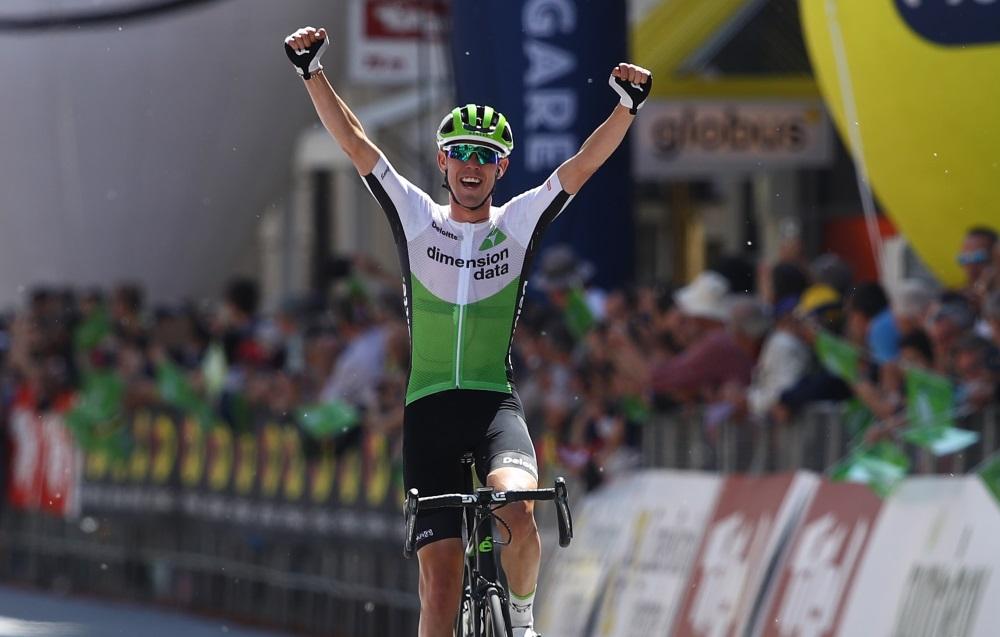 Ben O'Connor vince la terza tappa del Tour of the Alps (foto Bettini)