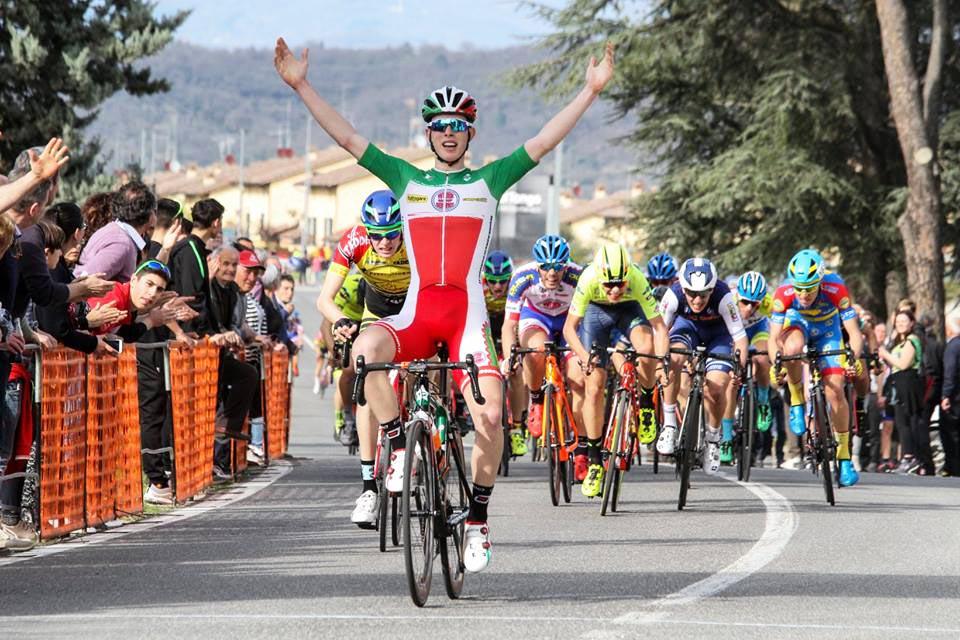 Il tricolore Juniores Alessio Acca vince a Pieve al Toppo