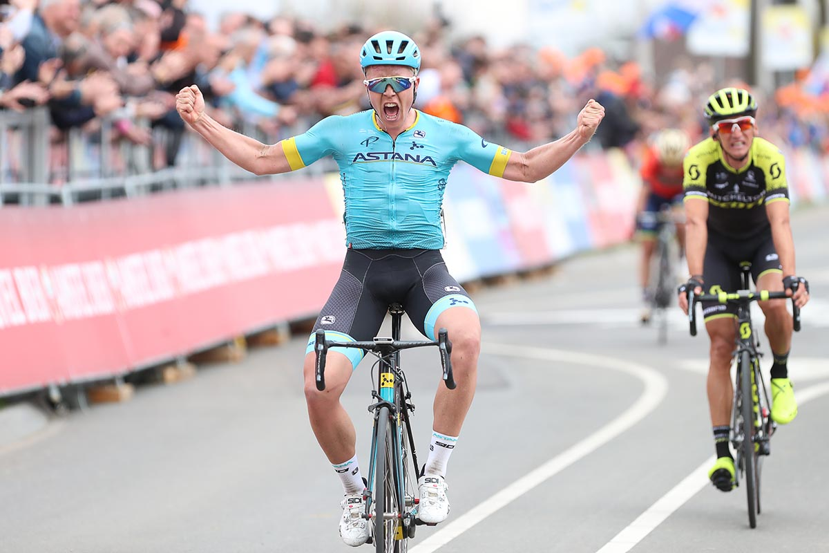 Michael Valgren vince l'Amstel Gold Race 2018