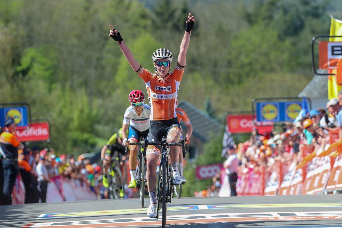 Anna Van der Breggen vince la Freccia Vallone femminile 2018