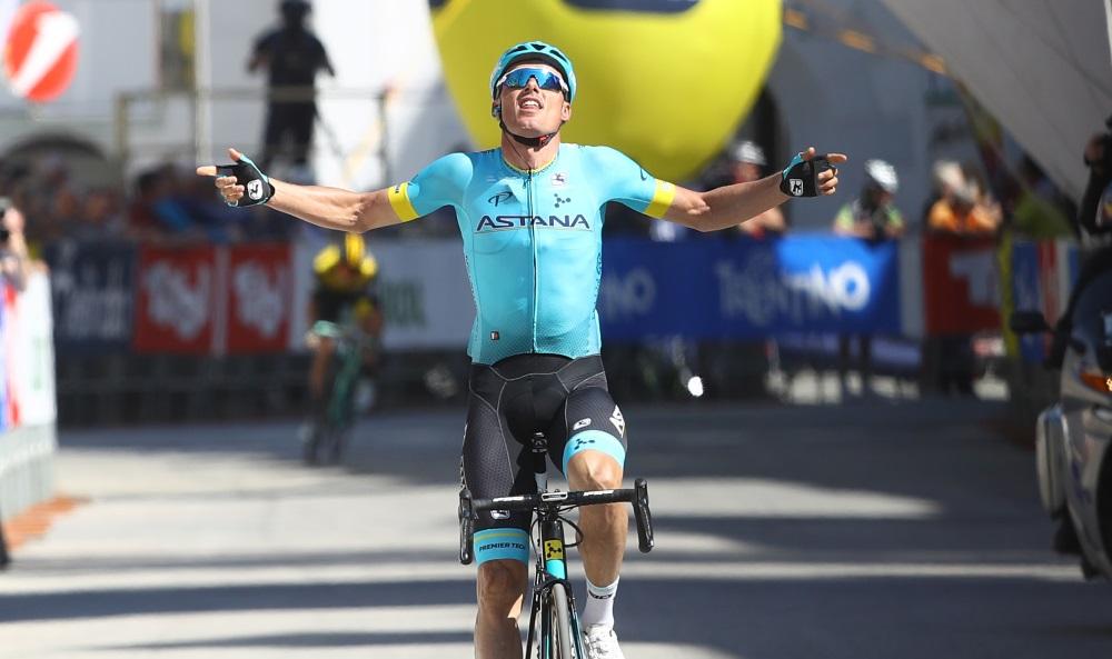 Luis Leon Sanchez vince la quarta tappa del Tour of the Alps