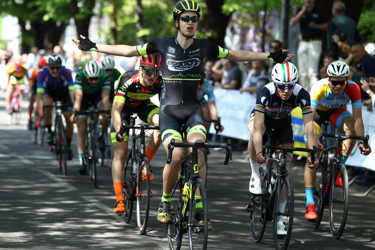 La vittoria di Andrea Berzi a Treviglio