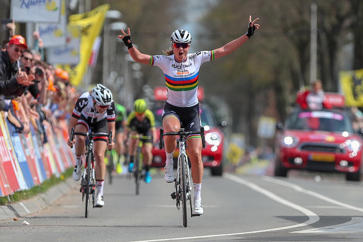 Chantal Blaak vince la Amstel Gold Race femminile 2018