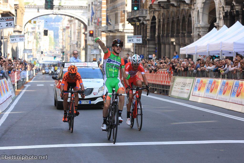 Giulio Ciccone vince il Giro dell'Appennino 2018