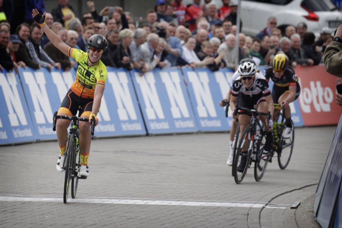 Marta Bastianelli vince la Freccia del Brabante femminile 2018