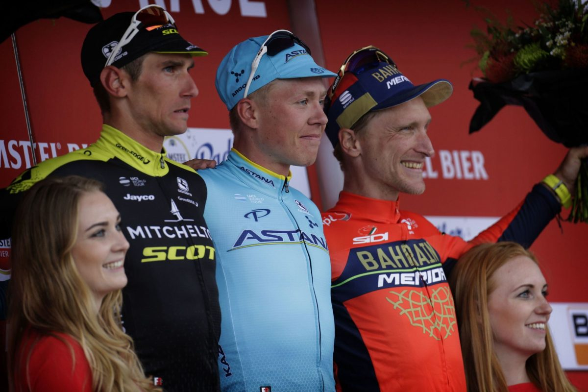 Il podio dell'Amstel Gold Race