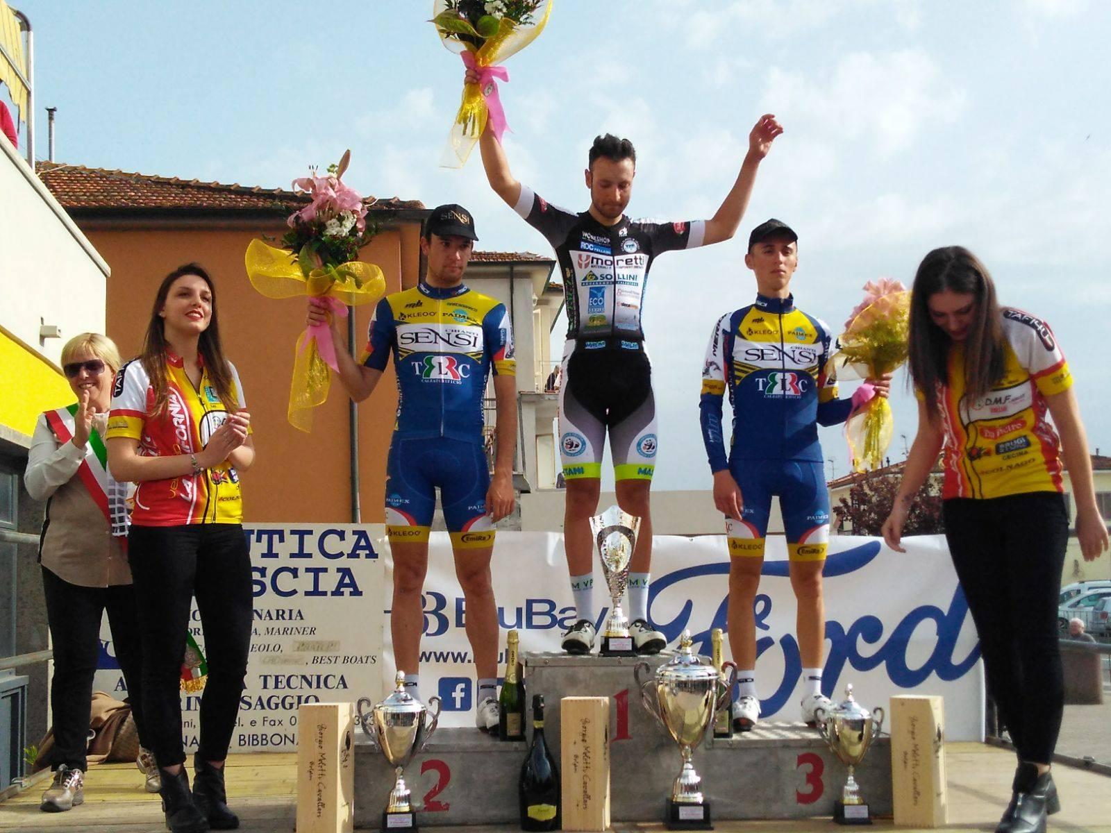 Davide Leone vincitore a Marina di Bibbona
