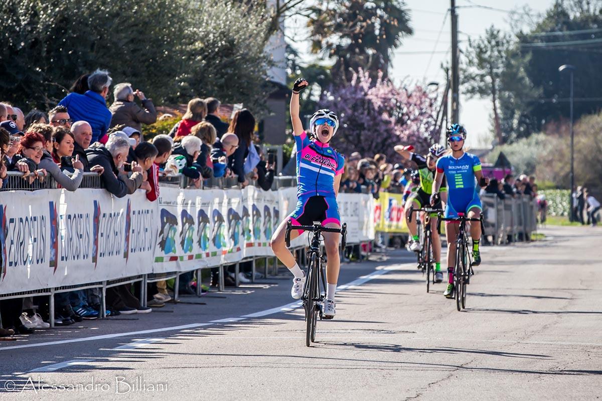 Eleonora Ciabocco vince la gara Donne Esordienti di Schiavonia d'Este