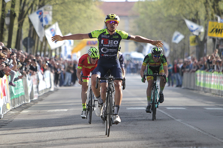 Matteo Furlan vince la Milano-Busseto 2018
