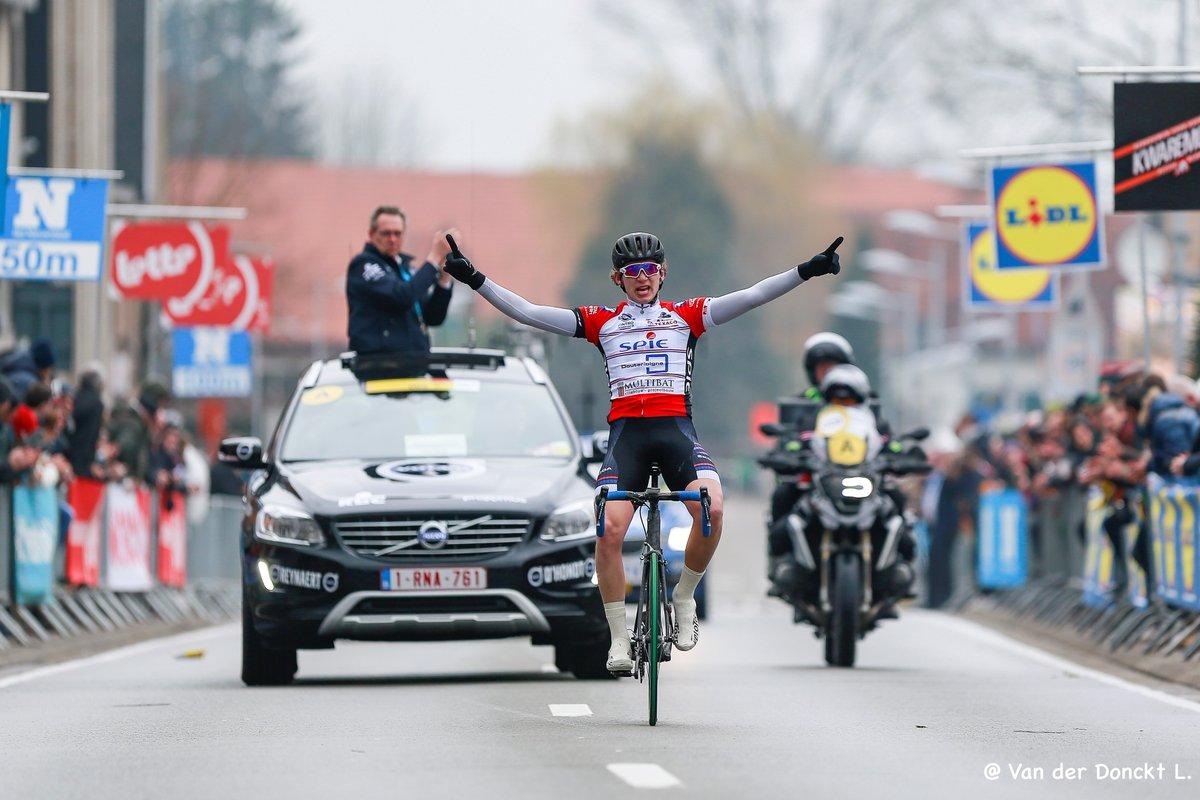 Il norvegese Daniel Arnes vince il Giro delle Fiandre Juniores