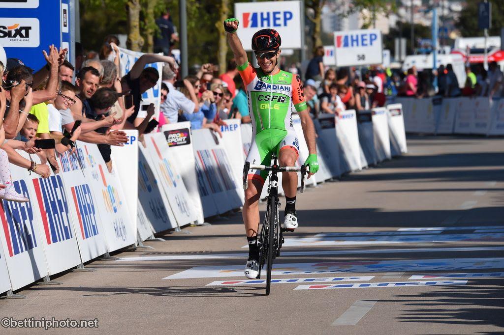 Alessandro Tonelli vince la quarta tappa del Tour of Croatia 2018