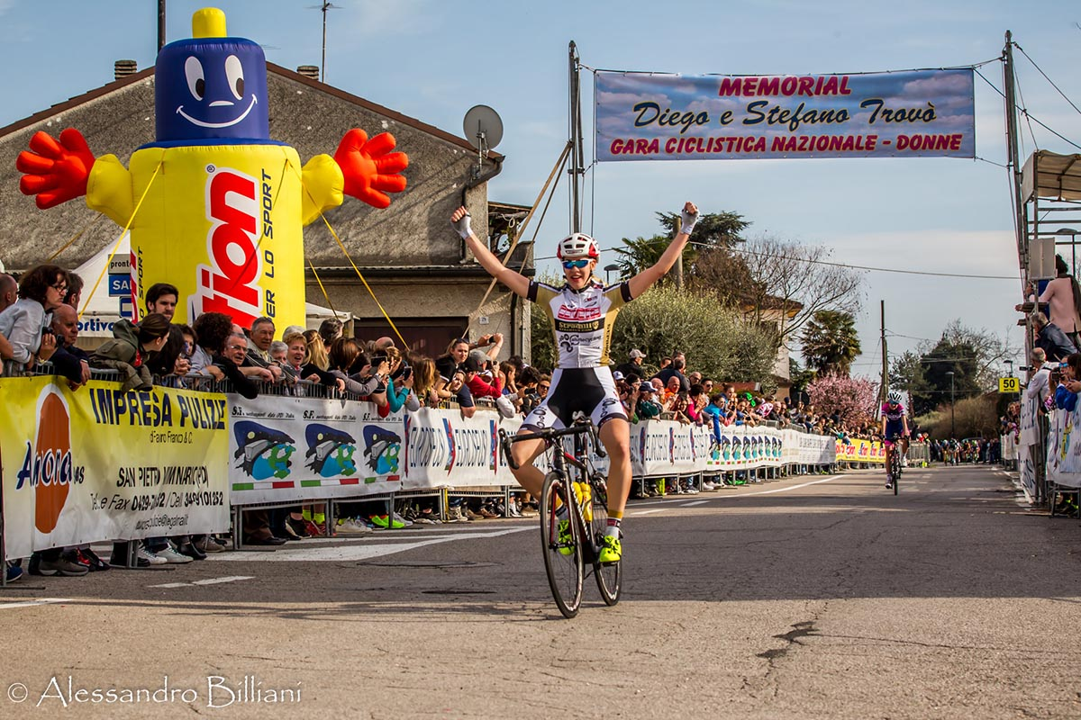 La slovena Katja Jerentina vince il 10° Memorial Diego e Stefano Trovòa Schiavonia d'Este