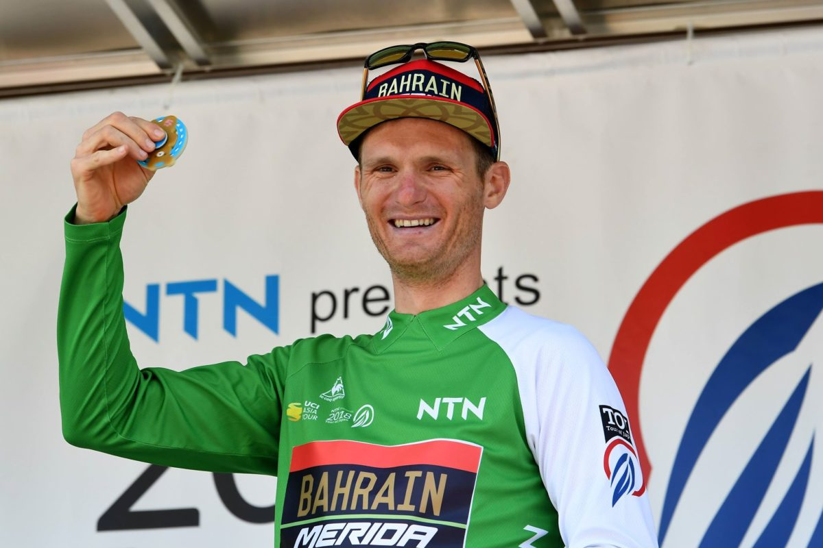 Grega Bole nuovo leader del Tour of Japan