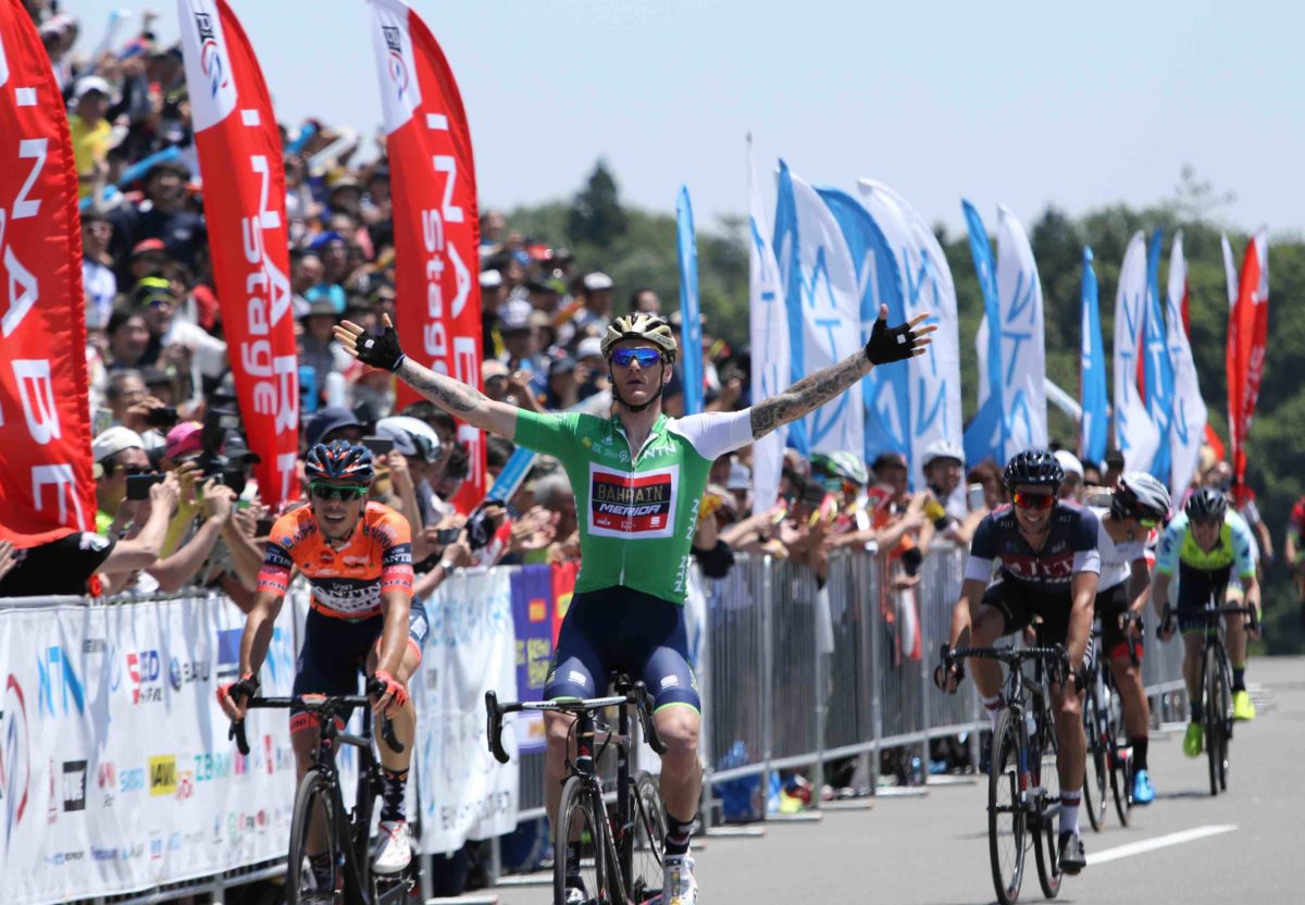 Grega Bole vince la terza tappa del Tour of Japan