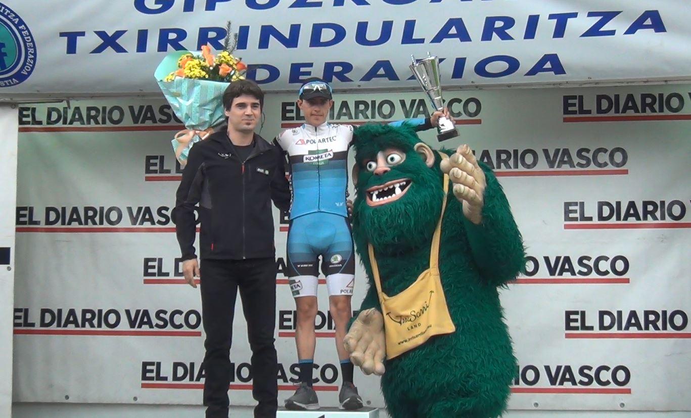 Juan Pedro López vincitore della prima tappa della Vuelta a Bidasoa
