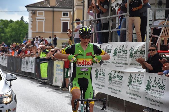 Rasmus Iversen vince il Gp Comune di Castellucchio 2018