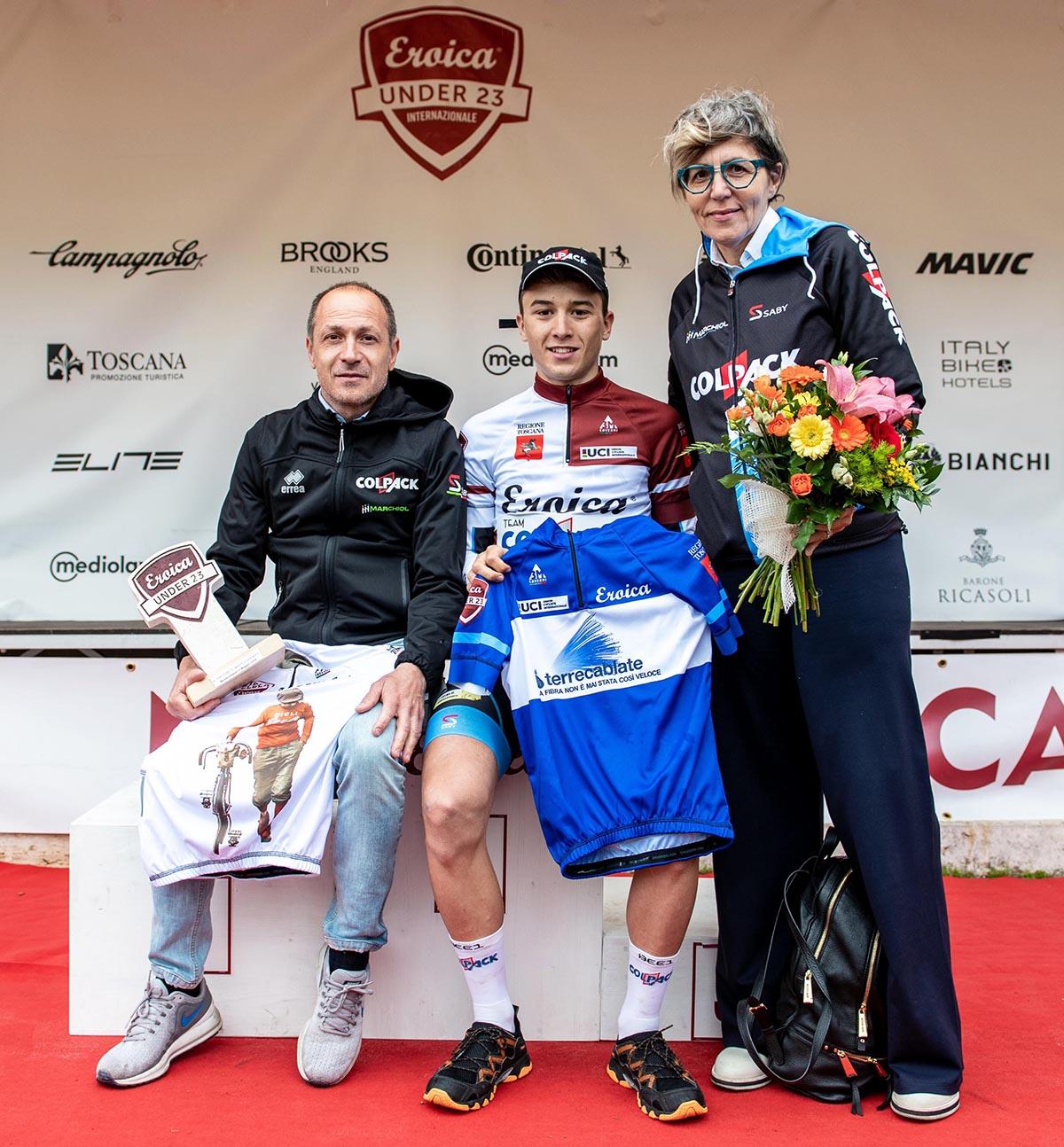 Grande bottino per Andrea Bagioli e il Team Colpack al Toscana Terra di Ciclismo 2018